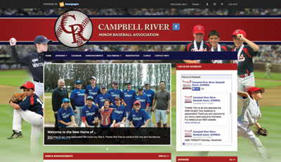 Cambell River Minor Baseball